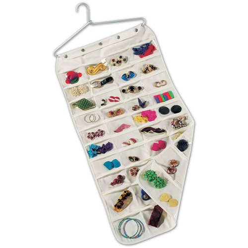 Household Essentials 80Pocket Jewelry Organizer Walmartcom