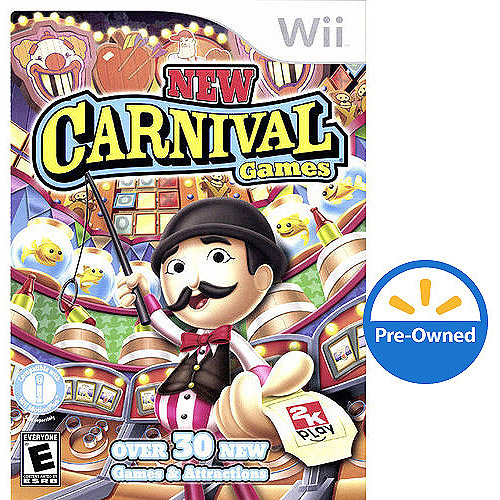 New Carnival Games (Wii) - Pre-Owned