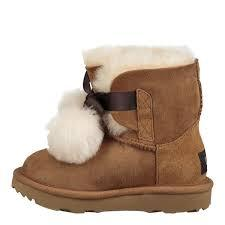 Chestnut Brown Boots - Kids UGG Gita Boot Chestnut Brown 1017403K-CHE
