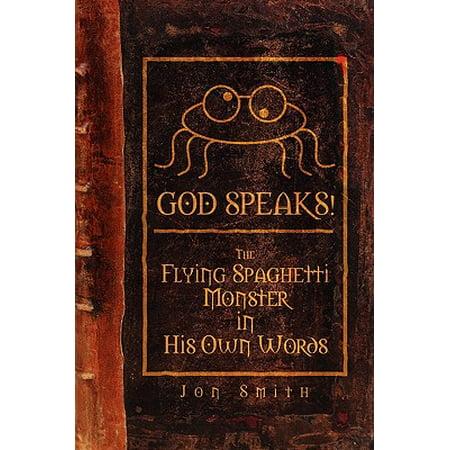 Flying Spaghetti Monster Emblem - God Speaks! the Flying Spaghetti Monster in His Own Words