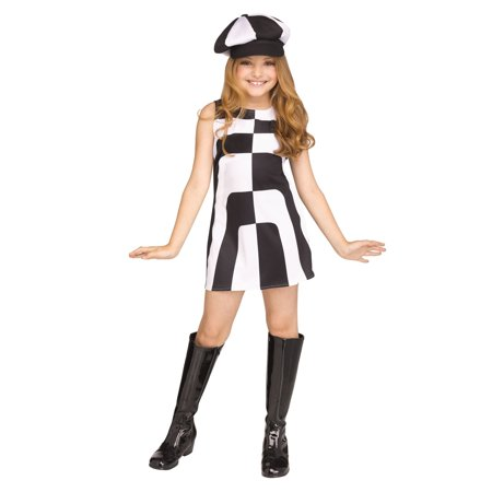 Mod 60's Girl Costume - Mob Girl Costume