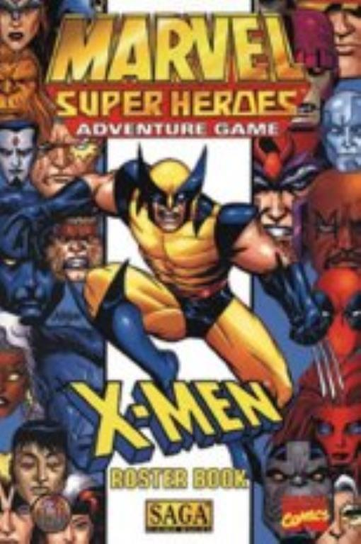 X-Men Roster Book Lightly Used by TSR