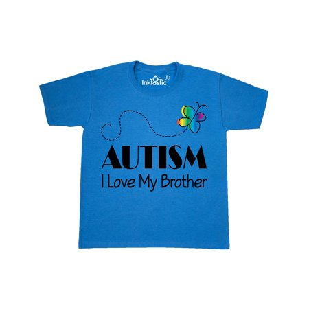 Autism I Love My Brother Youth T-Shirt (I Love My Brothers)