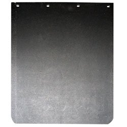 GLOBETECH MANUFACTURING 2430TPSBRC 24X30 TIREPLAST STANDARD MUD FLAP WITH ROUNDED CORNERS Aluminum Universal Mud Flaps