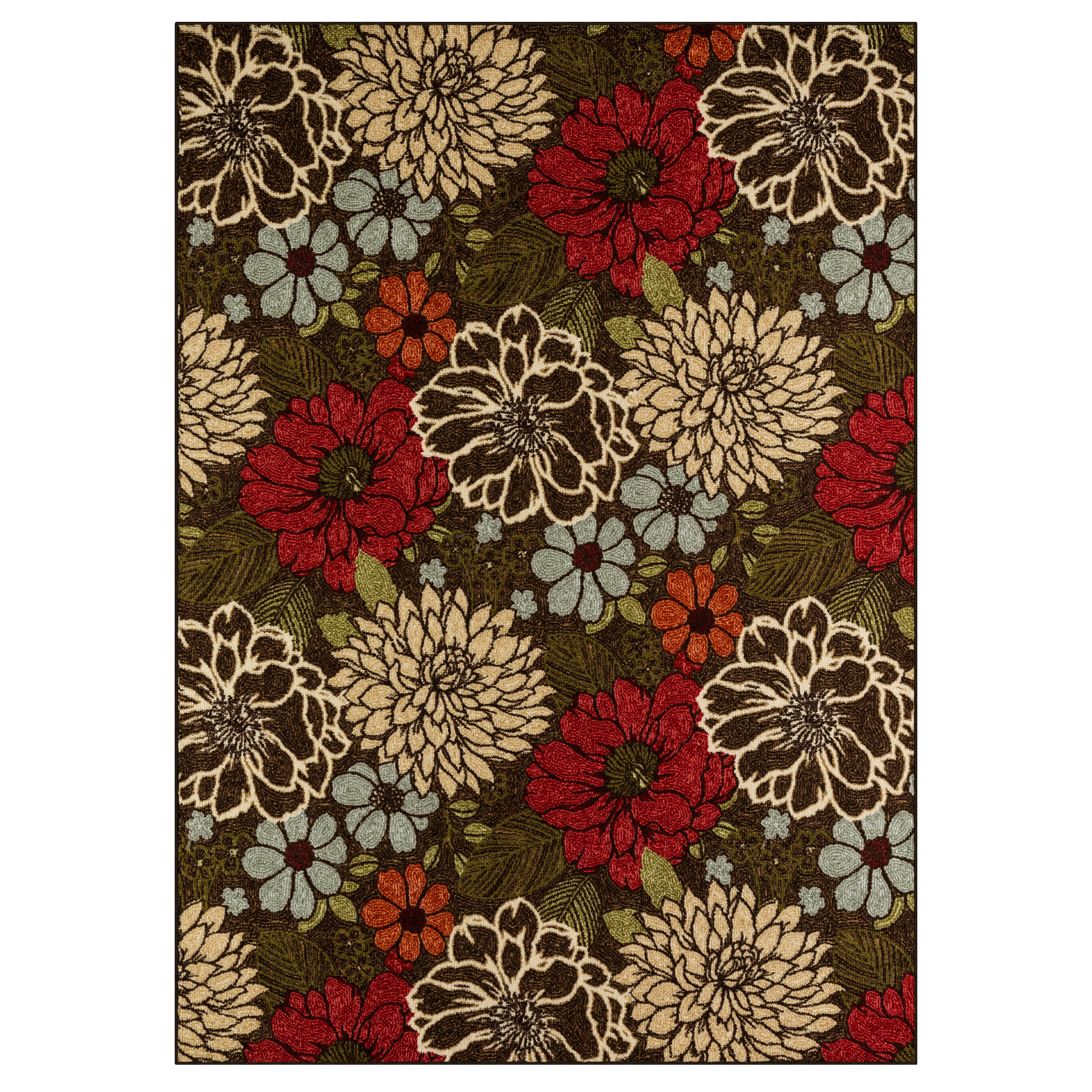 Better Homes & Gardens Sorbet Faux Hook Floral Area Rug or Runner