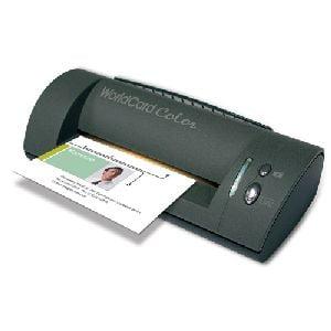 Penpower Worldcard Color Business Card Scanner - 24 Bit Color - 600 Dpi Optical