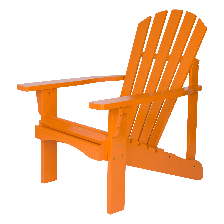 Shine Company Rockport Adirondack Chair - Tangerine