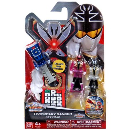 Power Rangers Super Megaforce Legendary Ranger Key Pack [Super Megaforce] - Robo Knight Megaforce