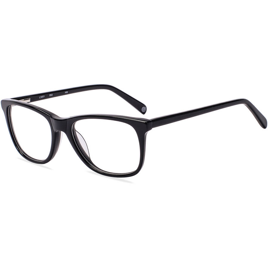Designer Looks for Less Womens Prescription Glasses, L3001 Black - Walmart.com | Tuggl