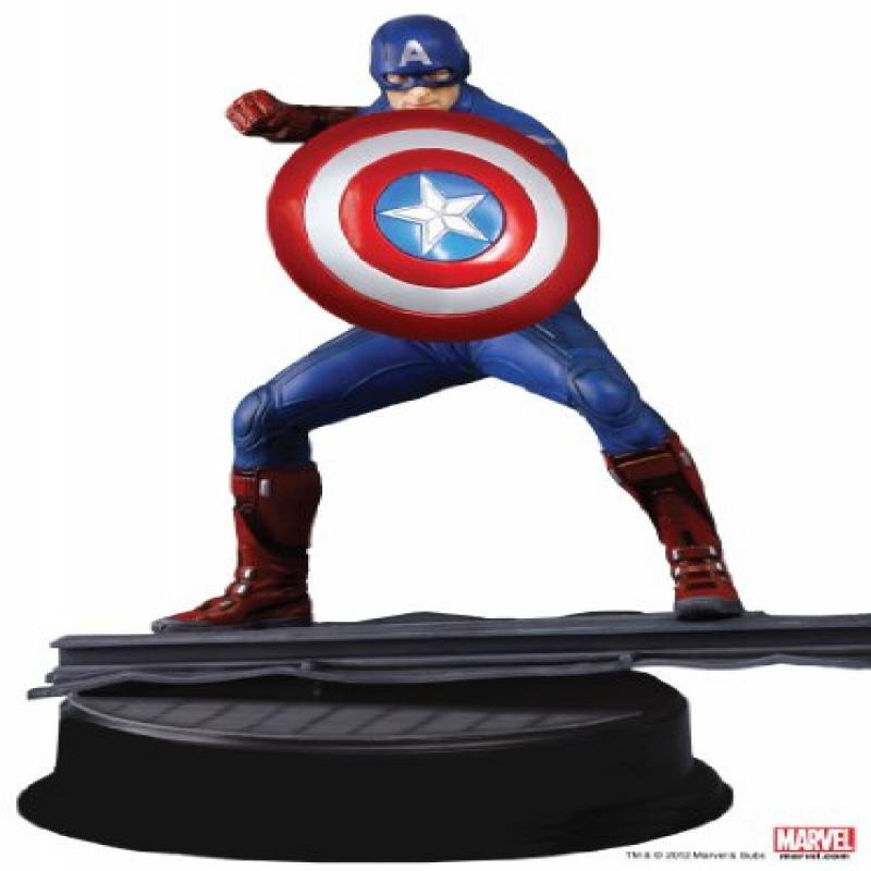 Dragon Models Avengers Captain America Vignette Action Figure