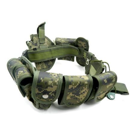 Lixada Outdoor Belt Law Enforcement Modular Equipment Duty Utility Belt with Pouches Holster