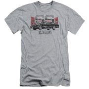 Chevy El Camino Ss Mountains Mens Slim Fit Shirt