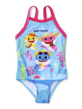 Baby Shark Baby Girl One-Piece Swimsuit