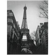 "Oriental Furniture Eiffel Tower Sun Glow Canvas Wall Art, 23.5""W x 31.5""H"