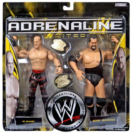 WWE Wrestling Adrenaline Limited Kane & Big Show Action Figure 2-Pack (Kane Wwe)