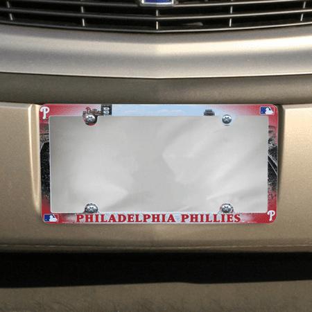 Philadelphia Phillies Field Plastic License Plate Frame - No Size