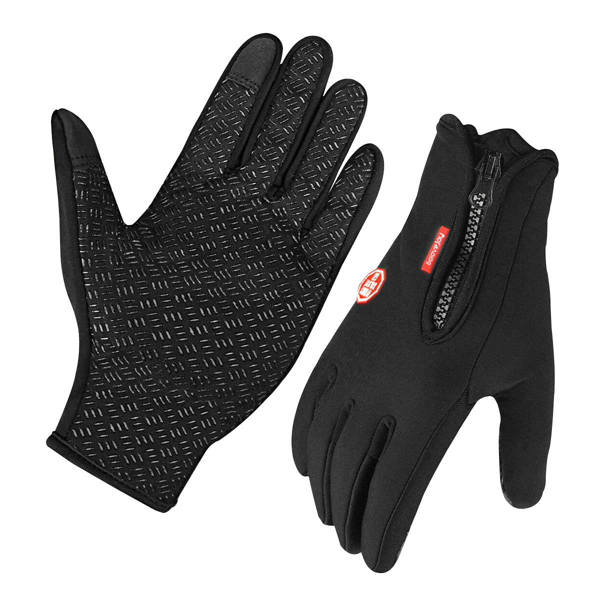 Details about  /Touchscreen Thermal Outdoor Sports Gloves with Back Pocket Warm Lining Gloves