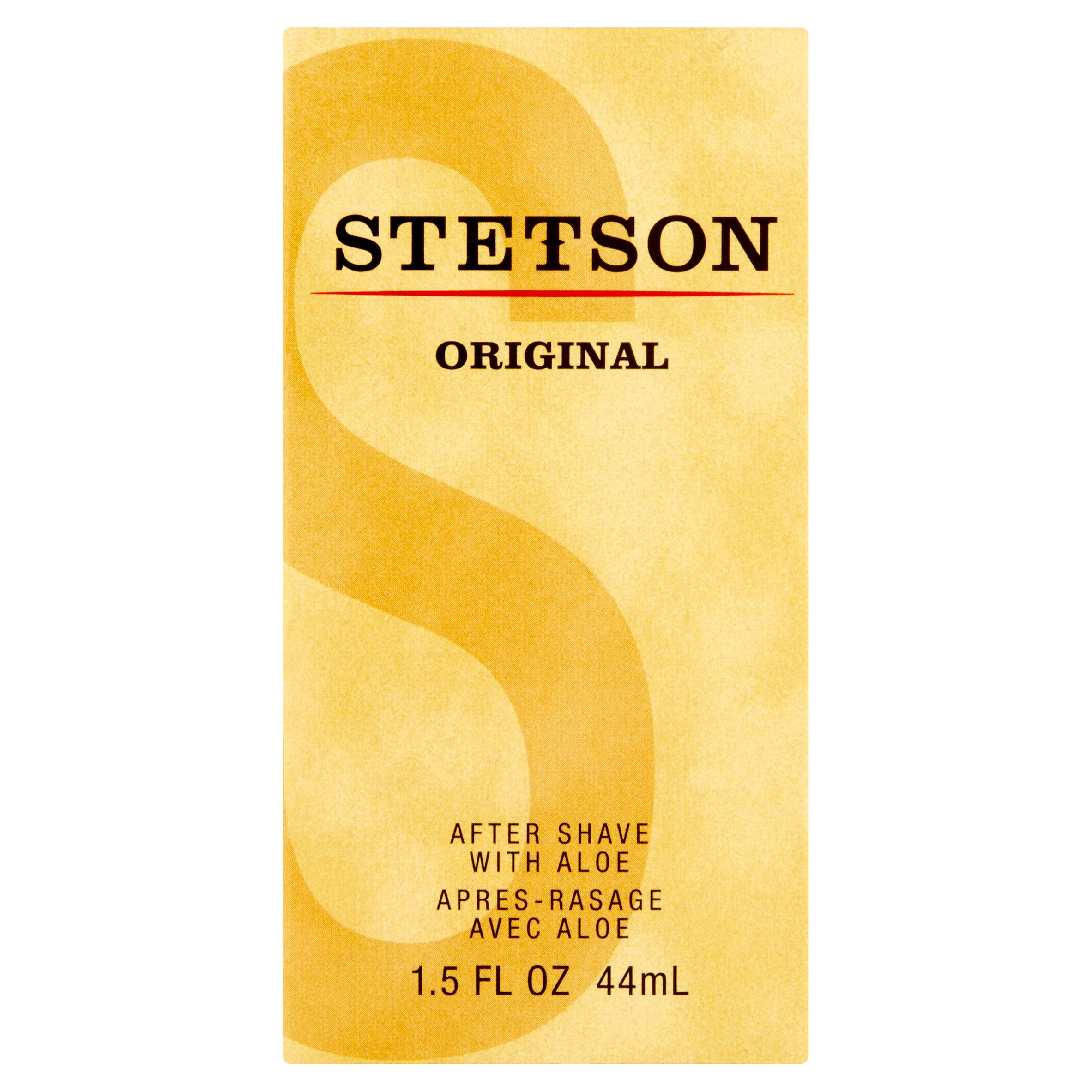 Stetson Original After Shave with Aloe, 1.5 fl oz