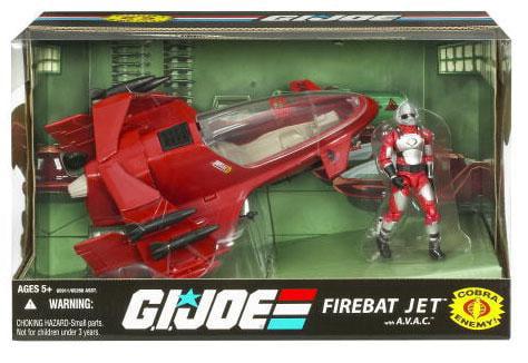 GI Joe 25th Anniversary FireBat Jet Action Figure Vehicle by Hasbro, Inc.