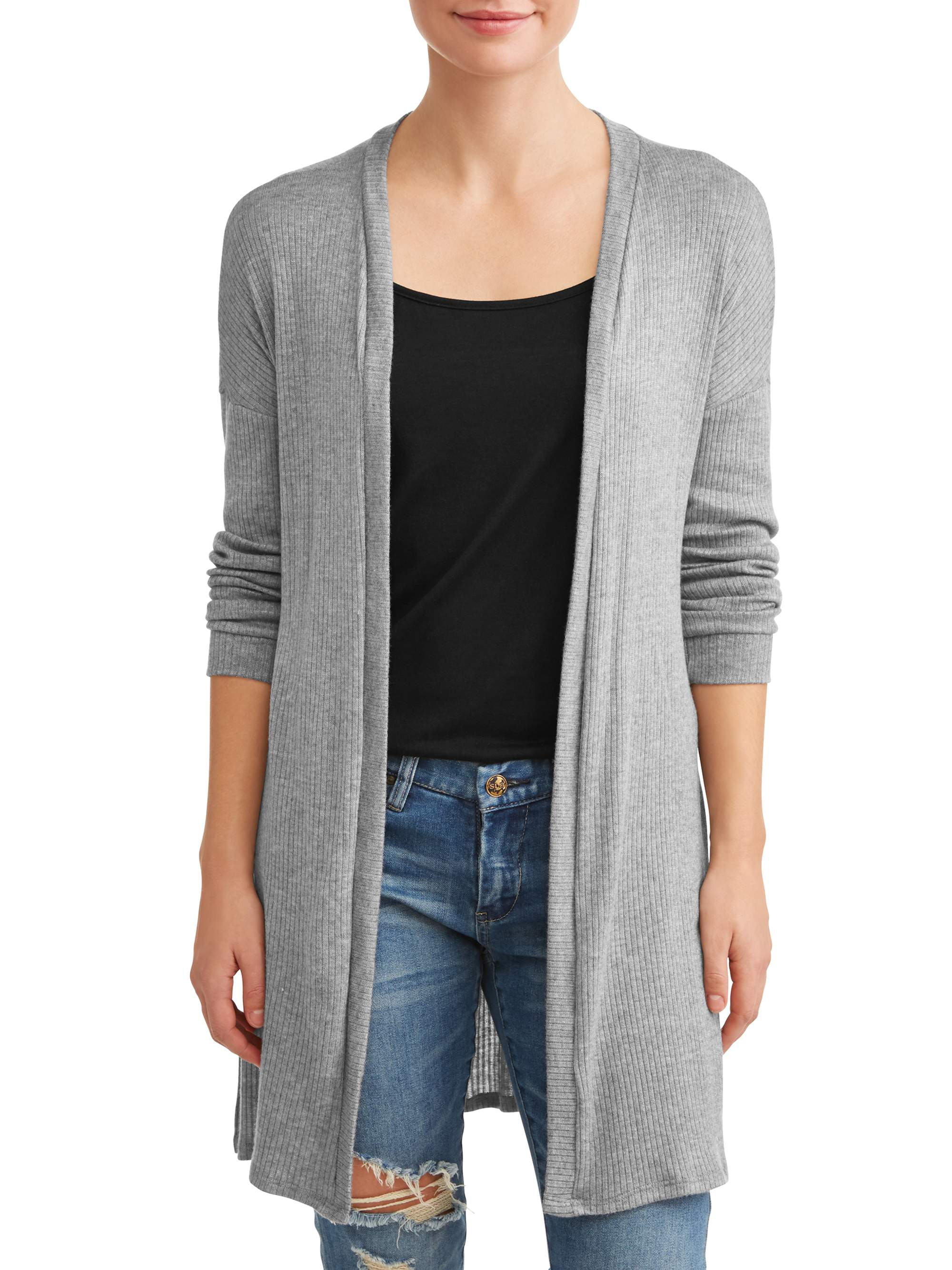 Women's Long Open Cardigan
