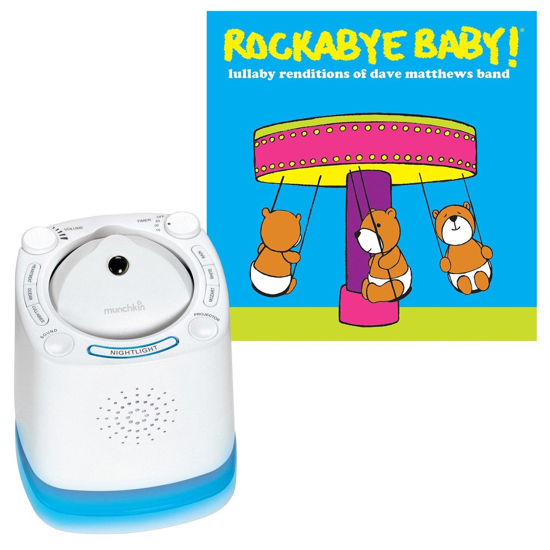 Munchkin Nursery Sound Projector with Rockabye Baby Lulla...