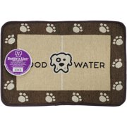 """Signature Placemats 13""""X19""""-Food & Water"""