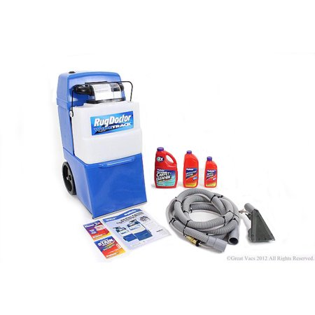 Demo Model Rug Doctor Wide Track Pro Carpet Shampooer w tools & shampoo 5 yr warranty