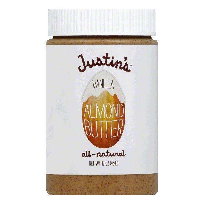 Justin's Nut Butter Vanilla Almond, 16 OZ (Pack of 6)