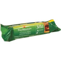 "Pine Mountain 3-Hour Fire Log, Easy Start Logs, 10.5"" x 3"", 1 Pack"