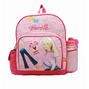 Small Backpack - - w/ Water Bottle - Pink Jeans New School Bag 18453