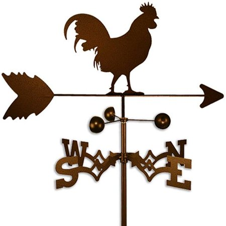 Classic Rooster Weathervane - SWEN Products Inc Handmade Cuckoo Rooster Weathervane