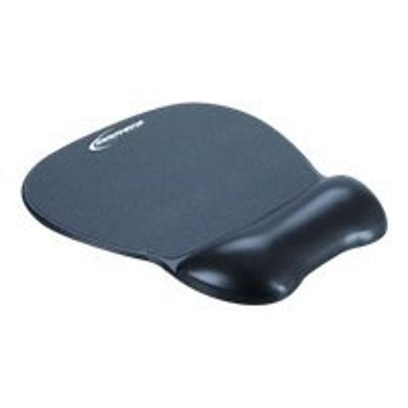 Innovera Gel Mouse Pad W Wrist Rest  Nonskid Base  8 1 4 X 9 5 8  Black