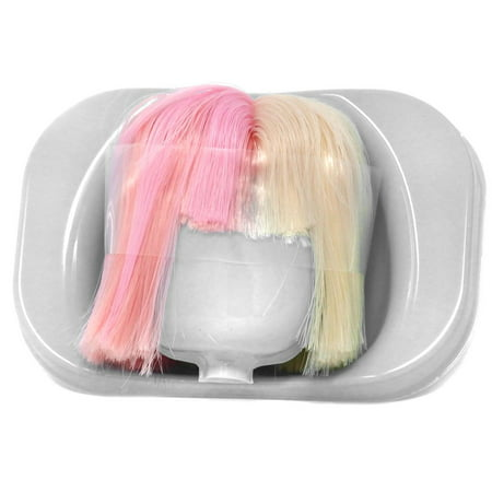 LOL Surprise 2018 LIMITED EDITION Pink & Blonde Short Punk Brushable Hairstyle Wig [No Packaging]