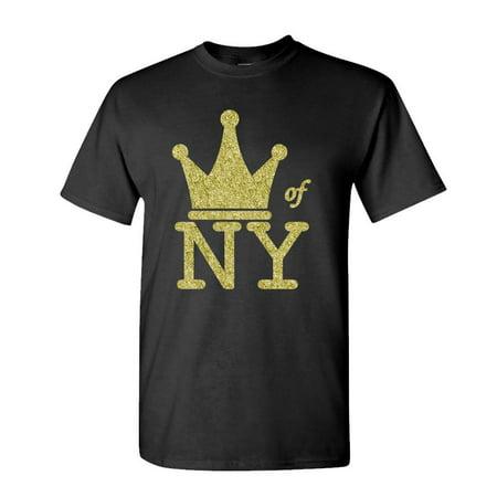 KING OF NEW YORK - crown hip hop rap biggie - Cotton Unisex
