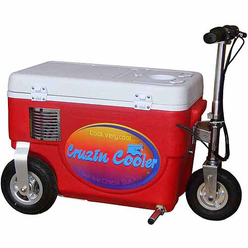 Cruzin Cooler 1000W Scooter, Red