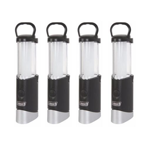 4) Coleman MicroPacker 100L LED 2-in-1 Light Lantern Flashlights w/AAA Batteries