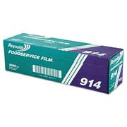 "Reynolds Wrap PVC Film Roll w/Cutter Box, 18"" x 2000ft, Clear"