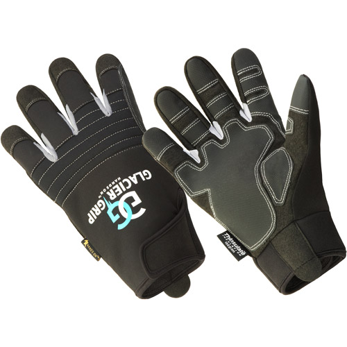 Hands On  Glacier Grip Thinsulate  Lined Premium High Dexterity Glove, 100% Waterproof.
