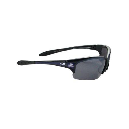 Texas Christian Horned Frogs TCU Black Purple Elite Sunglasses S7JT