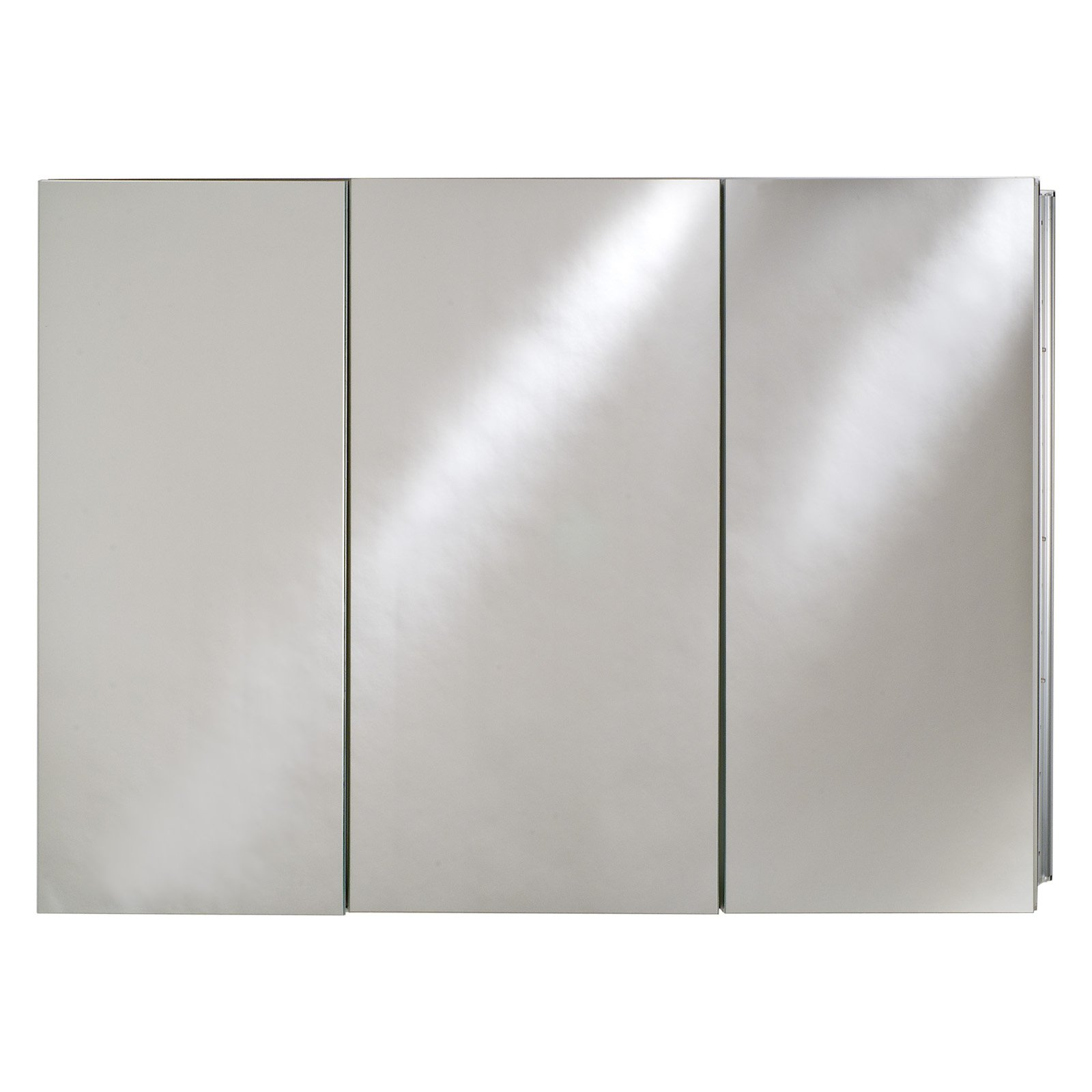 Afina Broadway Recessed Triple Door Medicine Cabinet - 48W x 4D x 30H in.