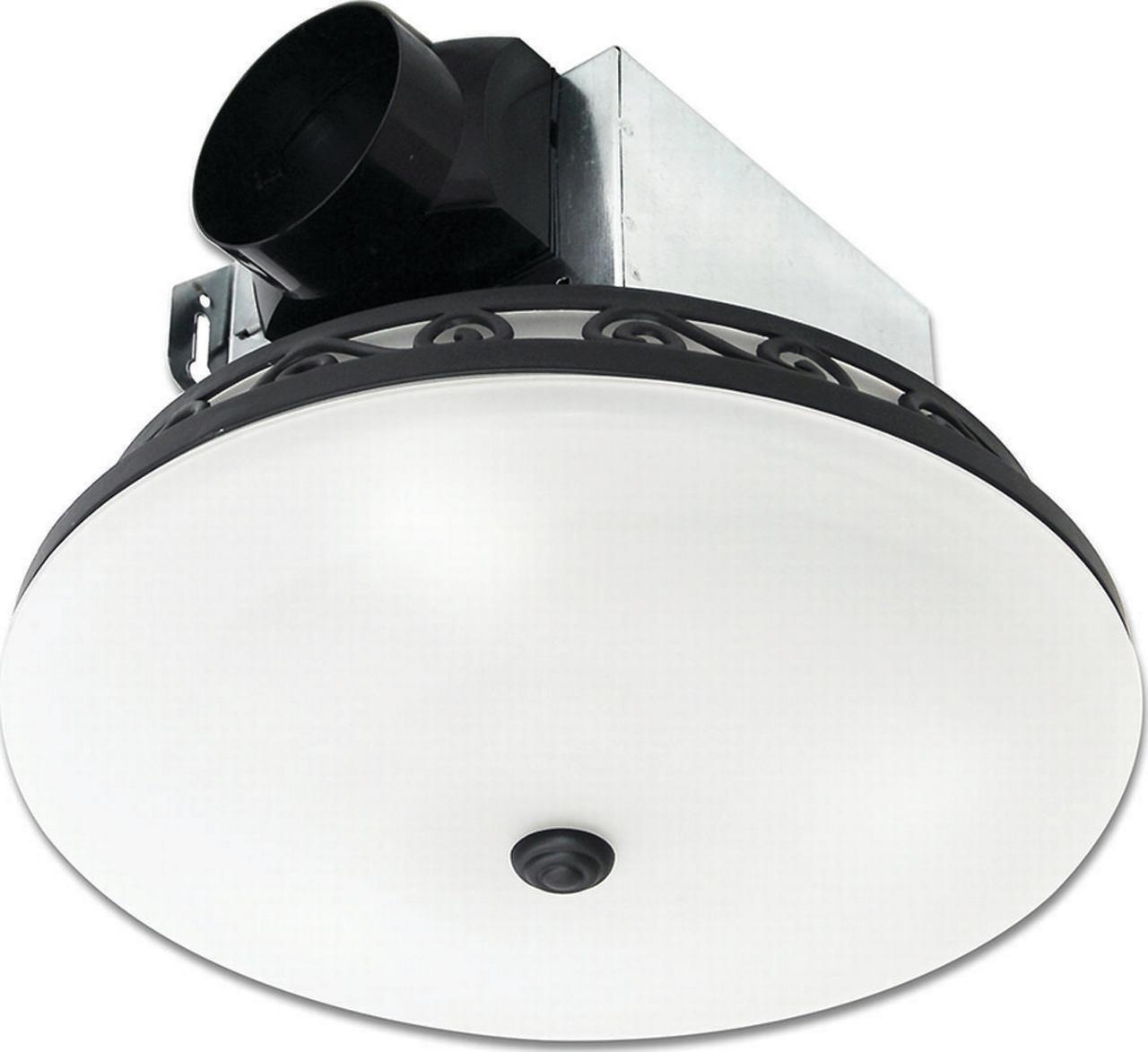 FAN EXHAUST 3LT MED 70CFM BLK