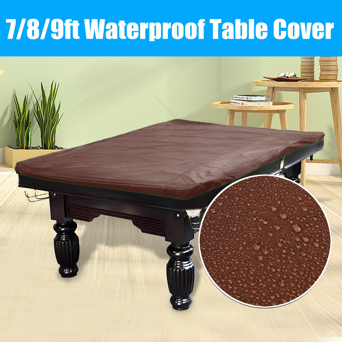 9 Foot Billiard Table Cover Black 9 Heavy Duty Leatherette Pool Table Cover