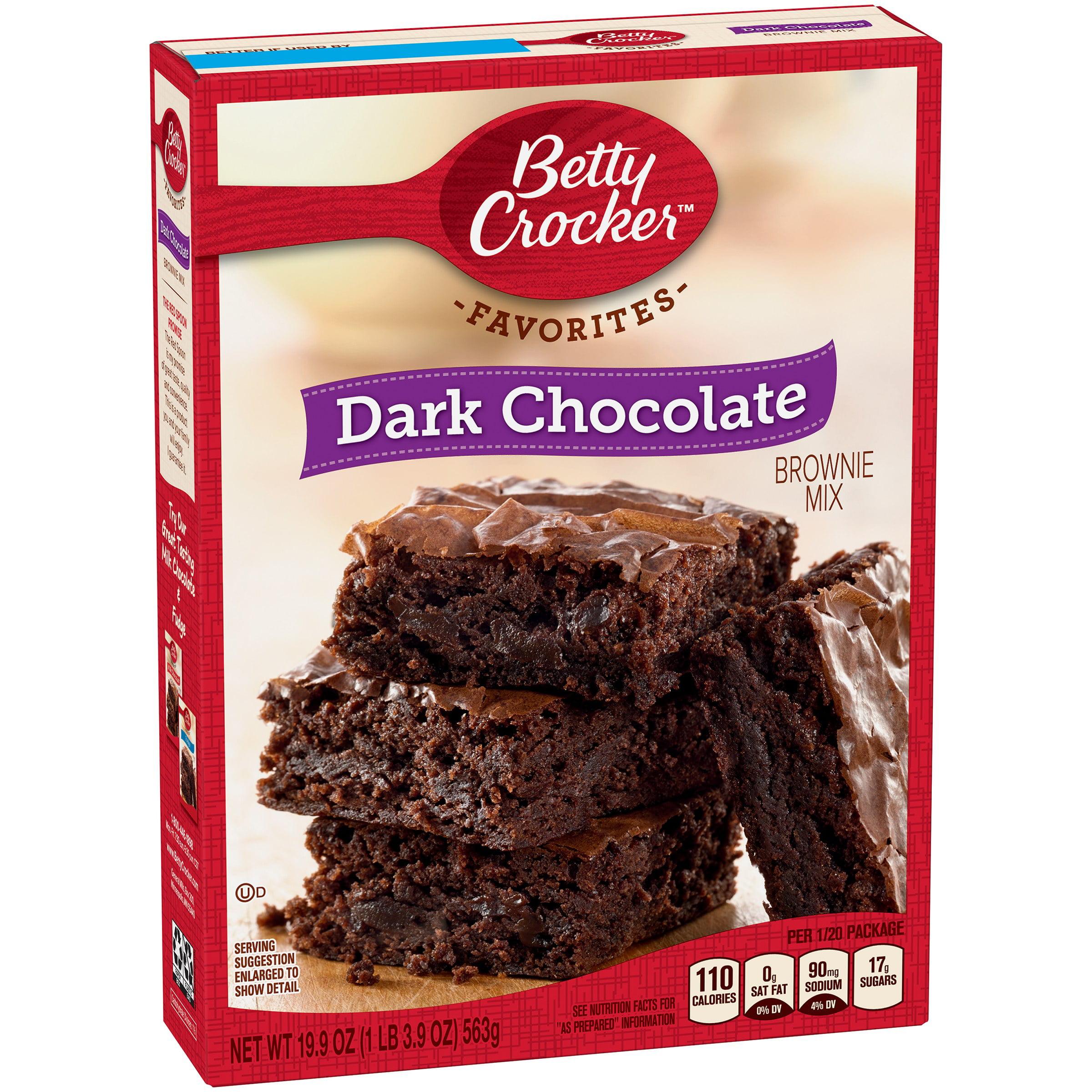 Betty Crocker Dark Chocolate Brownie Mix, 19.9 oz by General Mills Sales, Inc.