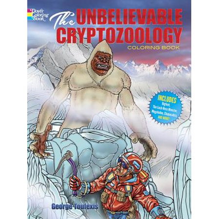 Dover Coloring Books for Children: The Unbelievable Cryptozoology ...