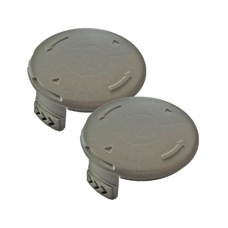 Ryobi OEM 3411546-7G 522994001 2 Pack string trimmer spool cover P2002 RY40200 ()