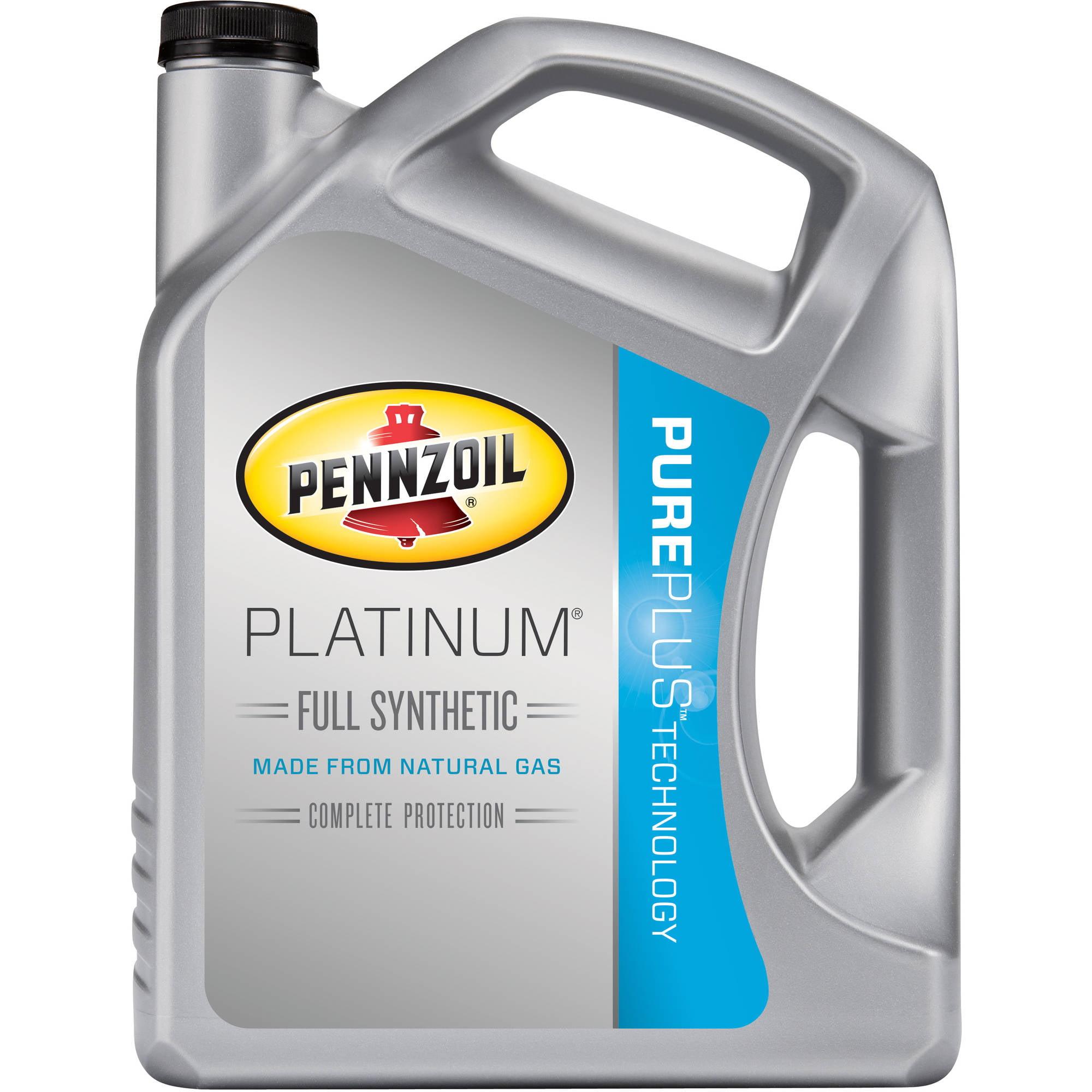 Pennzoil 5W30 Full Synthetic Platinum Motor Oil, 5 qt
