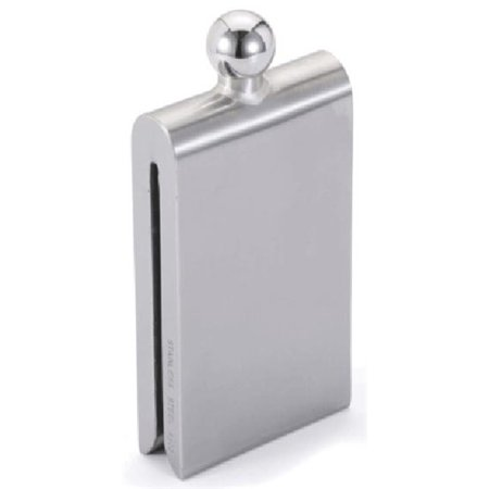 Visol Products Magnet Contemporary Stainless Steel Hip Flask