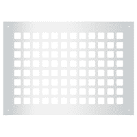 "Reggio Registers G1014-SH Grid Series 12"" x 8"" Grille with Mounting Holes"