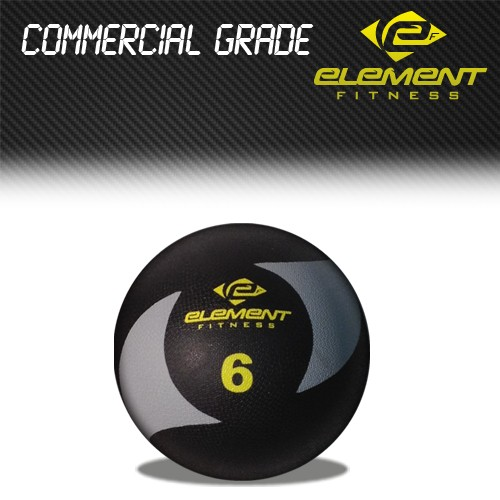 Element Fitness Commercial Medicine Ball-Weight:6lbs