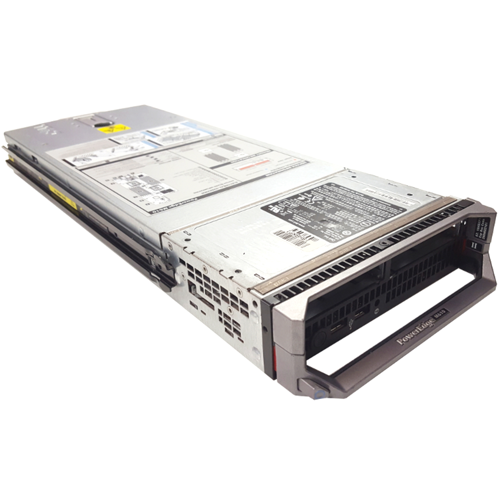 Dell PowerEdge M610 II Blade Server 2x 2.40GHz Intel Xeon 8-Core E5620 8GB RAM 2x 500GB 10K SAS HDD PERC6/i Refurbished